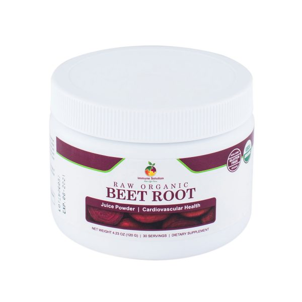 organic beet root superfood immune system supplement