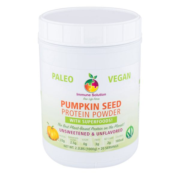 pumpkin seed protein superfood immune system supplement