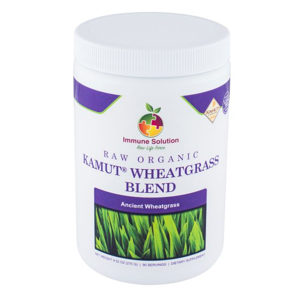 kamut wheatgrass powder superfood immune system supplement