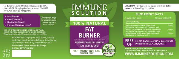 fat burner superfood immune system supplement
