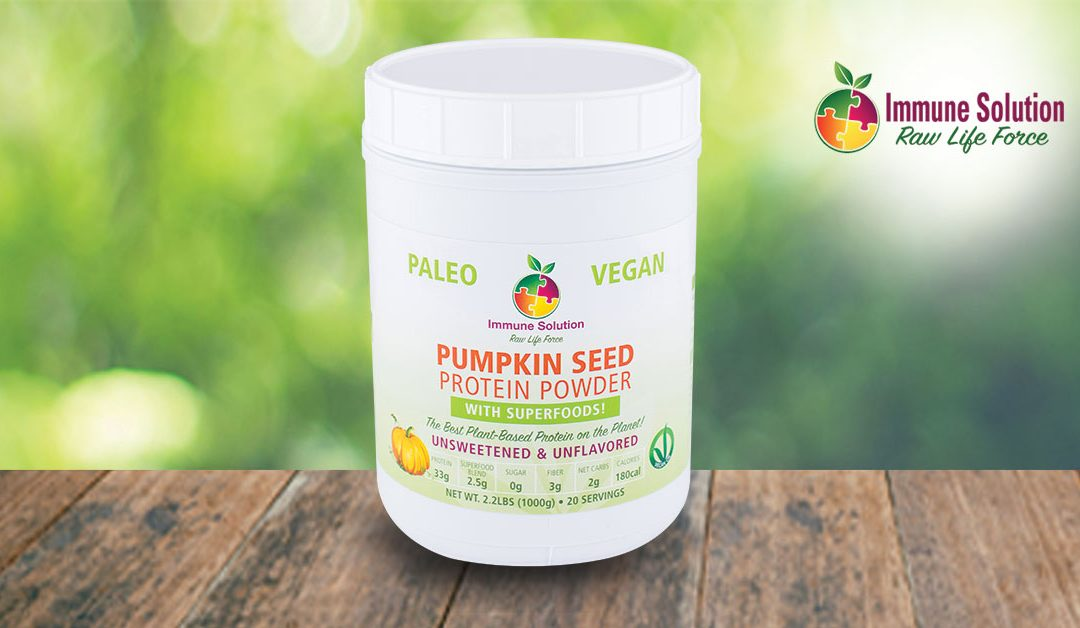 Pumpkin Seed Protein Powder – The Best Plant-Based Protein Powder on the Planet!