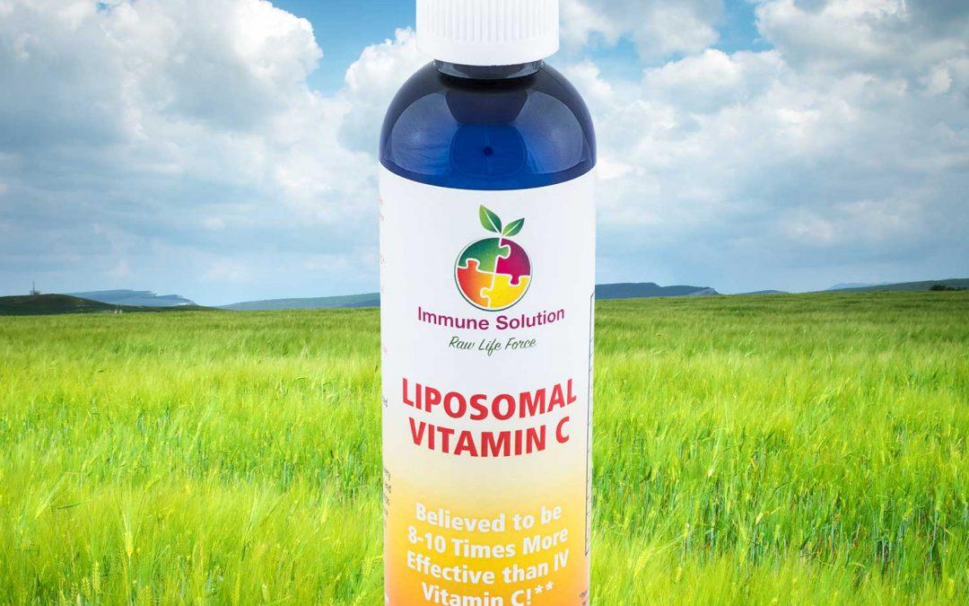 The Best Vitamin C Product Available – Liposomal Vitamin C