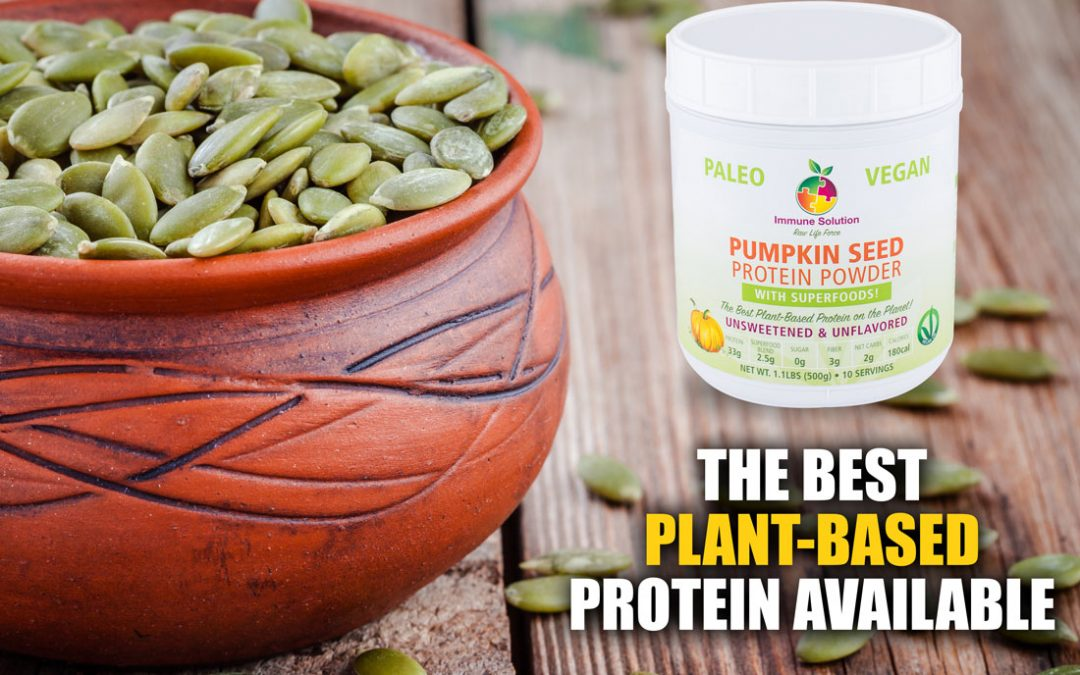 100% Organic Pumpkin Seed Protein Powder – The Best Plant-Based Protein Available