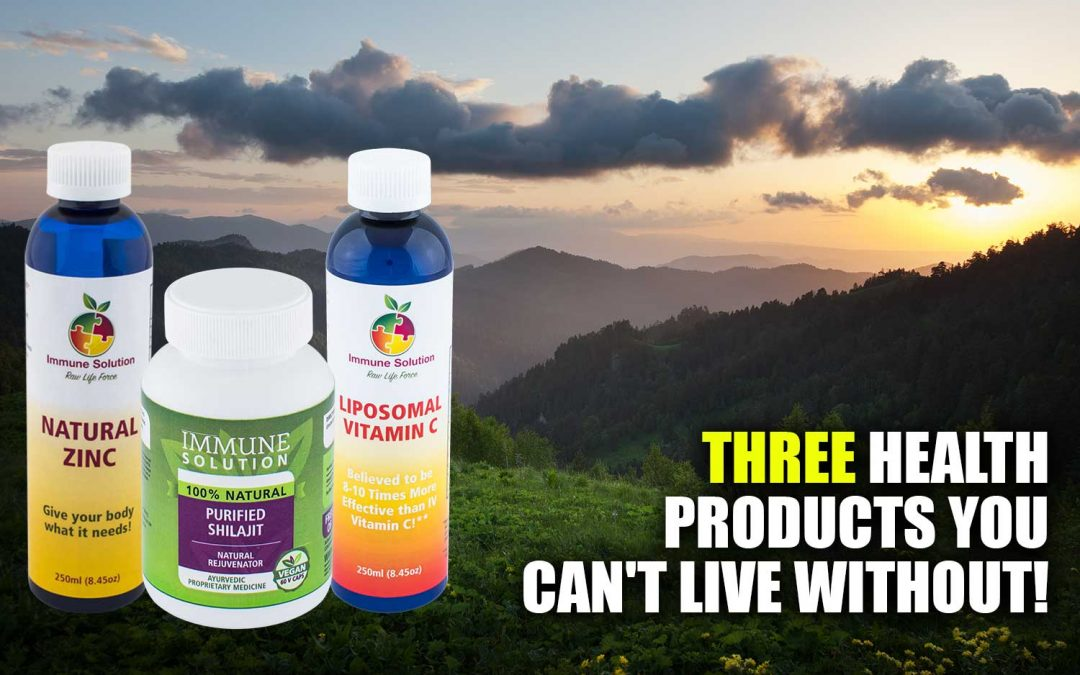 Three Health Products You Can't Live Without!