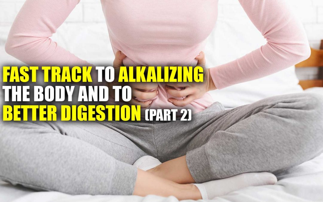 Fast Track to Alkalizing the Body and to Better Digestion – Part #2