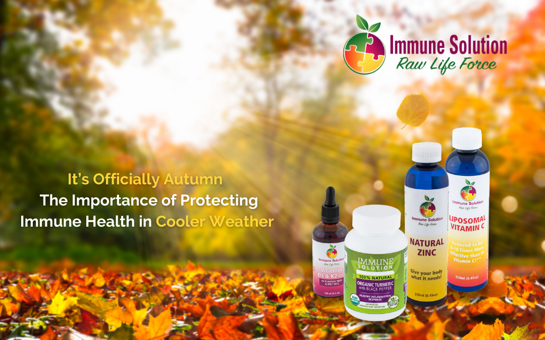 It's Officially Autumn – The Importance of Protecting Immune Health in Cooler Weather